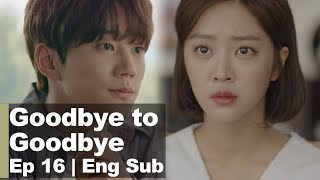 "Jo Bo Ah ""Please make me expect nothing from you"" [Goodbye to Goodbye Ep 16]"