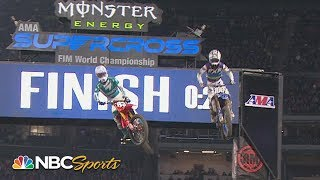 Supercross Round #3 at Anaheim | 250SX EXTENDED HIGHLIGHTS | Motorsports on NBC