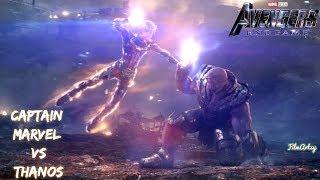 Avengers: Endgame | Captain Marvel & Iron Man Fight Thanos Scene | Must Watch