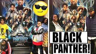 WE SAW THE BLACK PANTHER MOVIE! - Onyx Family
