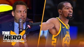 Chris Broussard talks Kevin Durant's free agency and future with the Warriors | NBA | THE HERD