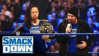 Undisputed ERA crash Shinsuke Nakamura's unveil of new-look title: SmackDown, Nov. 22, 2019