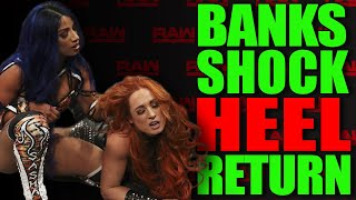 SASHA BANKS SHOCK HEEL RETURN at WWE Raw! Confirmed 16 Wrestlers For King Of The Ring! Best & Worst!