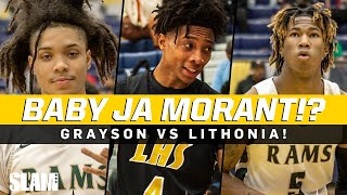 Baby Ja Morant!? Grayson duo takes on Eric Gaines 🔥