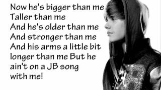 Justin Bieber - Never Say Never (Lyrics)