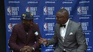 Aaron Holiday reflects on 1st-round selection to Indiana: 'It's what you dream of'