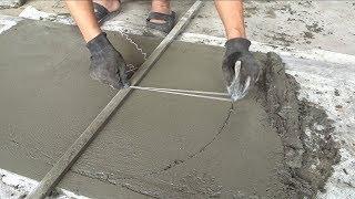Creative Sand And Cement Working - How To Build A Concrete Door Correctly