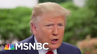 The Secret To Debunking President Donald Trump's Bluffs   The Beat With Ari Melber   MSNBC