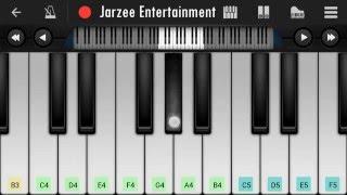 Main Hoon Hero Tera (Salman Khan) - Easy Mobile Piano Tutorial