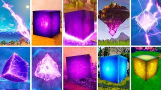 Evolution of Kevin The Cube - Fortnite Chapter 1 Season 1 to Chapter 2 Season 8