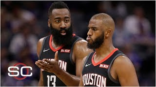 Tension exists between Chris Paul and James Harden | SportsCenter