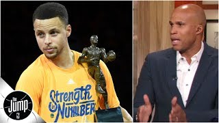 Don't forget Steph Curry won two MVPs before Kevin Durant got there - Richard Jefferson | The Jump