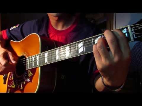 陳綺貞-距離(吉他練習)