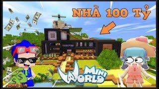 Mini world: Hàng xóm đại chiến tập 6: Timmy tham quan nhà 100 tỷ | phong cận tv