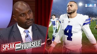 Dallas Cowboys 'abundance of talent' should cause concern for Dak — Wiley | NFL | SPEAK FOR YOURSELF