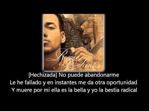 Romeo Santos - La Bella y La Bestia (lyric - letra)
