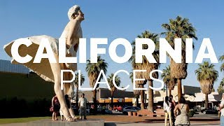 10 Best Places to Visit in California 2019 - Travel Video