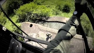 Helikoptere og jægersoldater