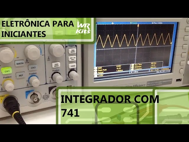 INTEGRADOR COM 741 | Eletrônica para Iniciantes #062