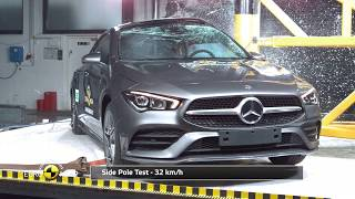Euro NCAP Crash & Safety Tests of Mercedes-Benz CLA - 2019 - Best in Class - Small Family Car