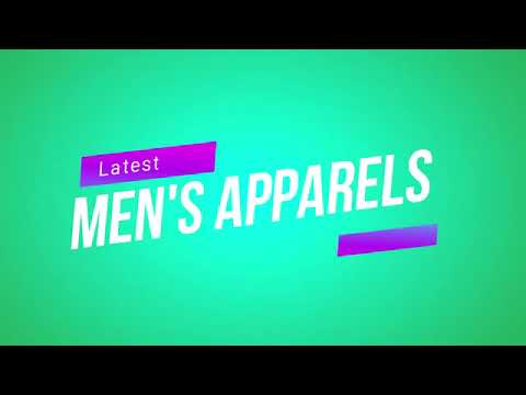 Diiferent Types Of Mens Apparel