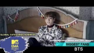 MTV EMA's 2018 AWARDS   NOMINEES   GLOBAL CATEGORIES