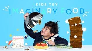 Kids Try Imaginary Food | Kids Try | HiHo Kids