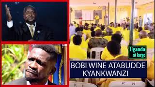 Okuteesa ku Bobi Wine kitabudde abekyankwanzi