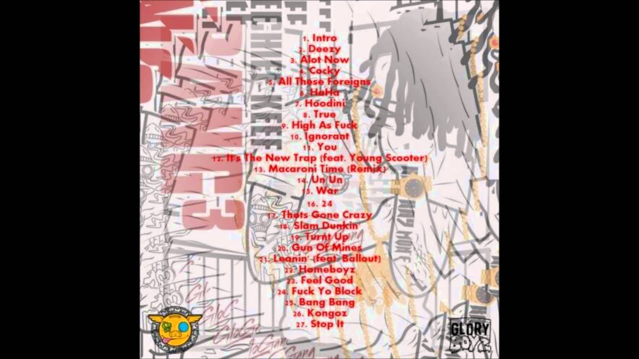 Chief Keef - Bang 3 Tracklist - YouTube