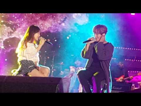 [161007] 강타 & 윤하 - Lucky(라디오 DJ 콘서트)
