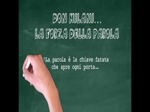 CLASSE IV A BACCARINI Ins TALANAS Don Milani la Forza della parola youtubesize