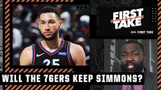 The 76ers will keep Ben Simmons if they don't get the right trade package - Perk   First Take