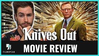 KNIVES OUT (Chris Evans, Daniel Craig, Rian Johnson movie) Movie Review