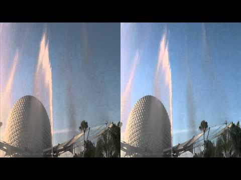 Epcot Fountain of Nations in 3D (yt3d:enable=true)