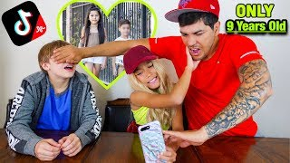 My Friend Mason & My Dad React To My TIK TOKS!! *I Cried* | Familia Diamond