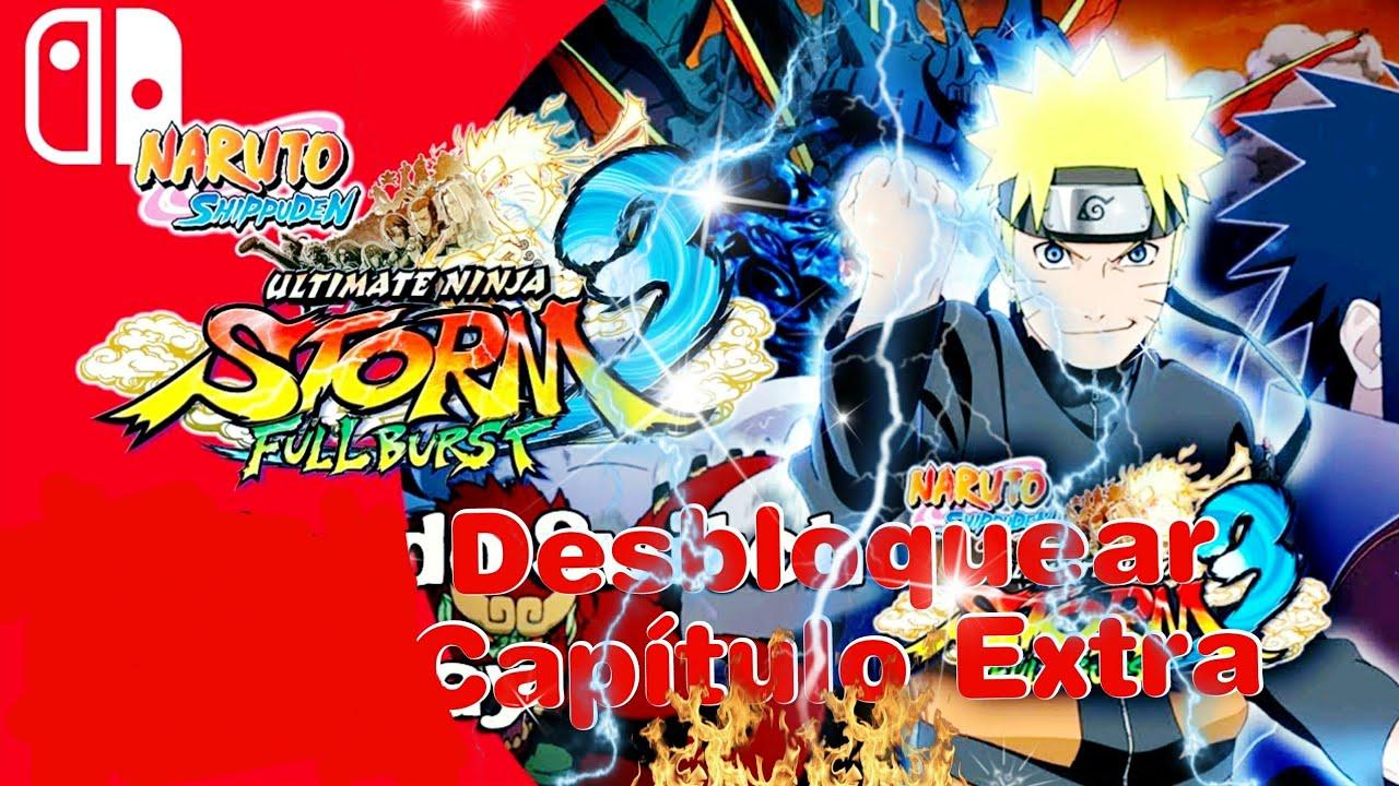 Nintendo Switch! Naruto Shippuden Ultimate ninja Storm 3 Desbloquear Evento  secreto Sasuke y Itachi