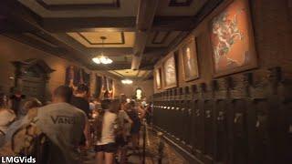 [4K] Haunted Mansion ride: Disneyland 2018 (Low Light) Complete ridethrough POV