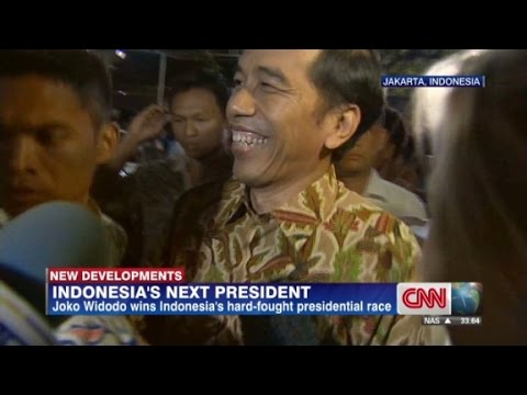 Joko Widodo wins Indonesia presidential race - CNN  - ZAtF6KrXyK0 -