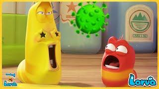 Larva Soap Bubbles ( Season 2) 🍟 Larva Cartoons - Comics | Larva Official 🥟 New Cartoon Comedy 2020