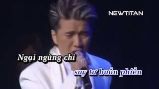 Karaoke. Khoc Cho Nguoi Di, Dam Vinh Hung(Newtitan)