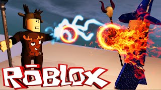 EVIL WIZARD BOSS BATTLE IN ROBLOX! (Roblox Arcane Adventures)