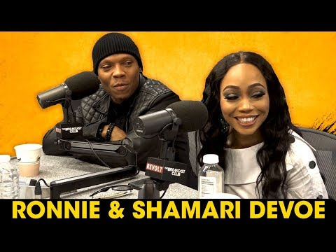 Ronnie & Shamari DeVoe On Maintaining Their Marriage, Open Relationships, RHOA + More