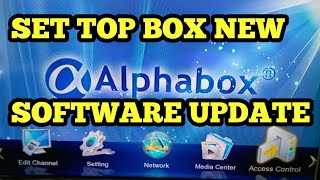 Solid 6141 Set-Top Box upgread in New Software Alphabox-X4se-1506c