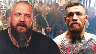 True Geordie Reacts To Conor McGregor Punching Old Man