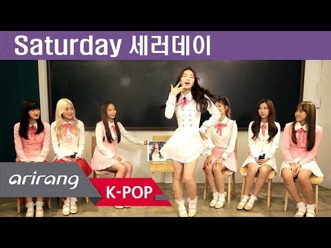 [Pops in Seoul] Wait for us! Saturday(세러데이) Members' Self-Introduction