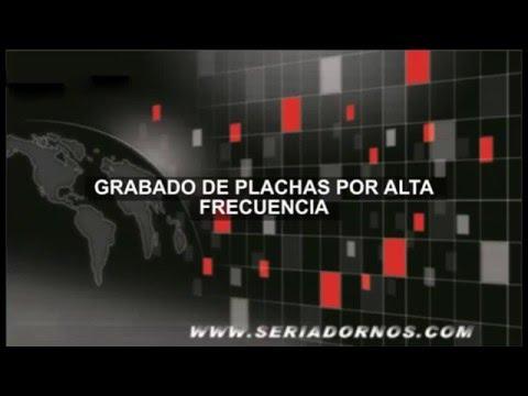 GRABADO DE PLANCHAS POR AF