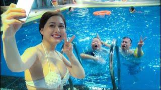 Bí Kíp Dạy Bơi - Phim hài cực hay - Atop Movies phần 7