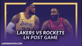 Lakers Discussion: Lakers Beat the Rockets, 19 point comeback, LeBron & Ingram Score 56 Total Points
