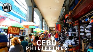 Downtown Cebu City - 🇵🇭 Philippines - 4K Virtual Tour
