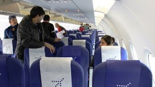 In-flight Announcements on IndiGo Airlines Airbus A320 from Guwahati to Chennai